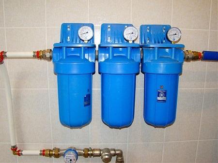Установка систем для водоочистки